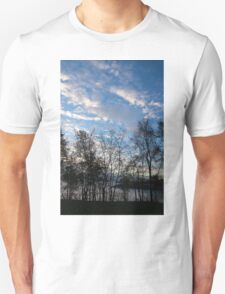 Sky Glory Through The Screen Of Trees Unisex T-Shirt