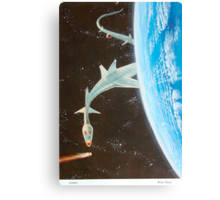 Asteroid gobbler Canvas Print