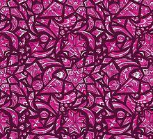 Creative tribal pattern by kisikoida