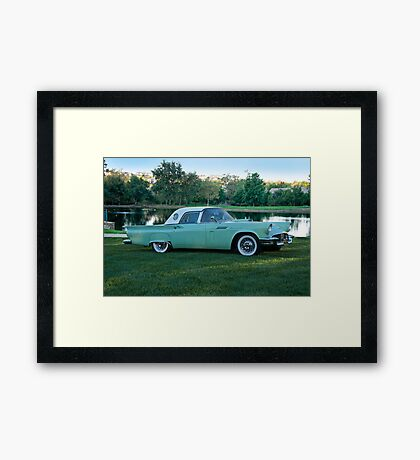 1957 Ford Thunderbird 2 Framed Print