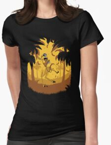 Banana Lover Womens Fitted T-Shirt