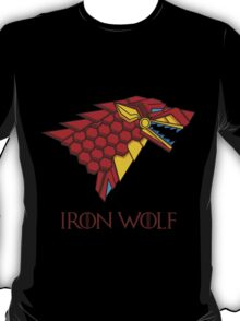 HOUSE STARK - IRON WOLF T-Shirt