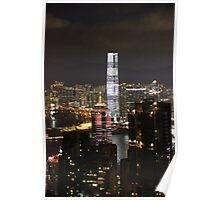 Night on the City III - Hong Kong. Poster