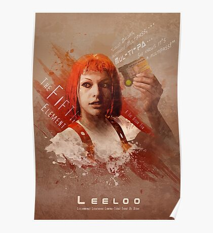 5th Element - Leeloo Poster