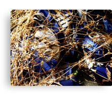 CANNED DOWN Canvas Print