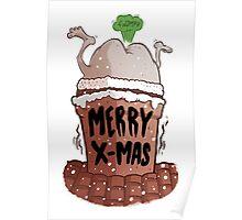 Santa bum Poster