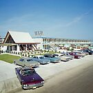 VIP Motel in Wildwood New Jersey from the 1960's by aladdincolor