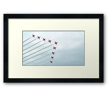 The Red Arrows-1 Framed Print