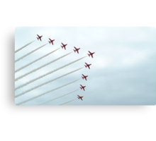 The Red Arrows-1 Canvas Print