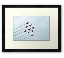 The Red Arrows-2 Framed Print
