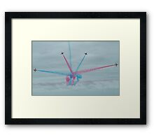 The Red Arrows-4 Framed Print
