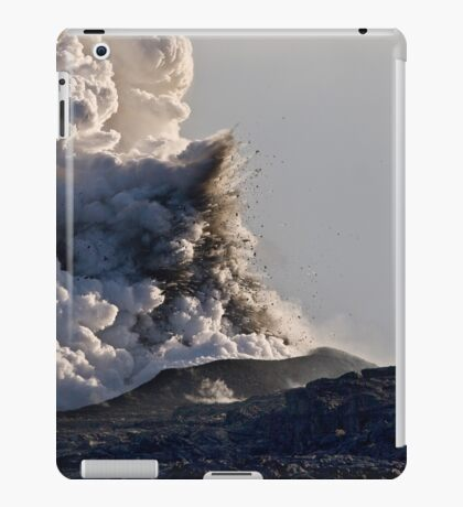 iPad Case. Kilauea Volcano at Kalapana 3. iPad Case/Skin