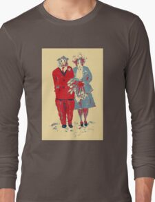 The Guinea Pig Wedding (Art Style) Long Sleeve T-Shirt
