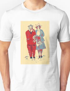 The Guinea Pig Wedding (Art Style) Unisex T-Shirt