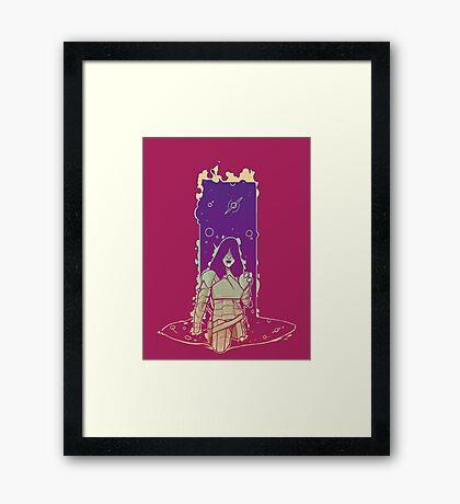 Emerging Woman Framed Print