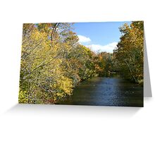 Little River In Townsend Tennessee Greeting Card