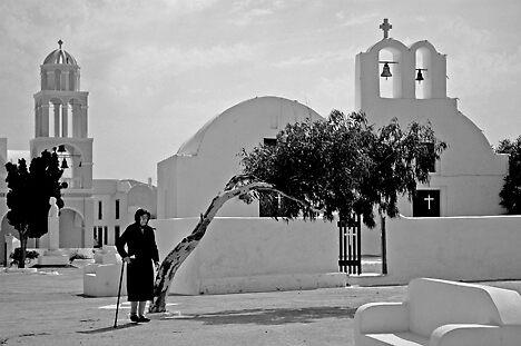 Santorini by Afzal Ansary FRPS