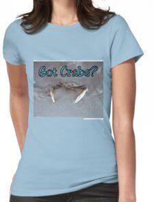 Got Crabs? Womens Fitted T-Shirt