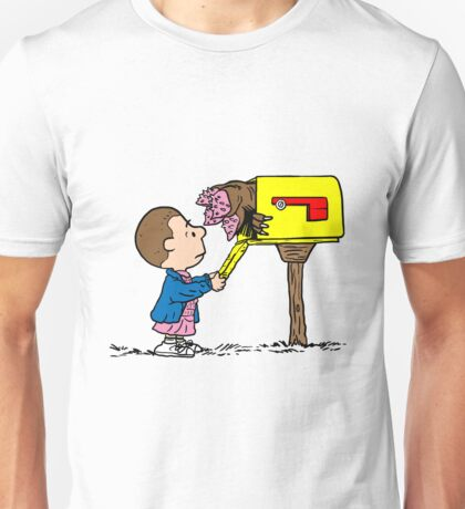 Stranger Things – Peanuts Unisex T-Shirt