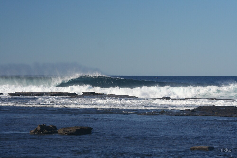wave out there by nikka