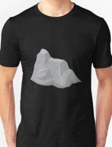 Glitch Ilmenskie Land rock dull mid1 T-Shirt
