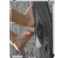 Tiny walking feet... Free State, South Africa iPad Case/Skin