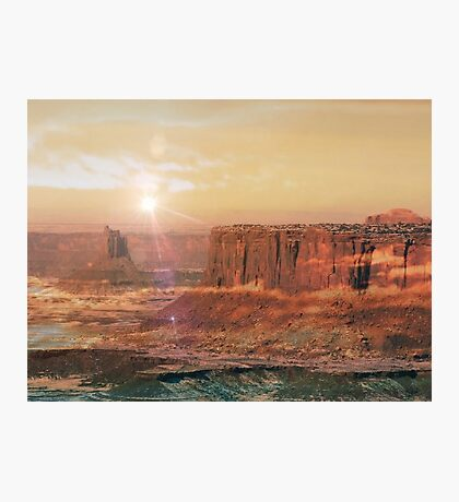 Canoyonlands Deep Desert Photographic Print