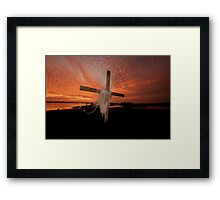 GOD'S OWN PAINT BRUSH Framed Print