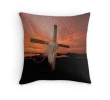 GOD'S OWN PAINT BRUSH Throw Pillow