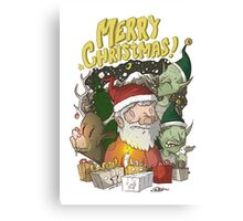 Christmas Design Canvas Print