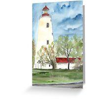 Sandy Hook 2 Fine Art Lighthouse Poster Print Greeting Card