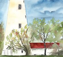 Sandy Hook 2 Fine Art Lighthouse Poster Print by derekmccrea