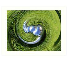 squiggle  boules   Art Print