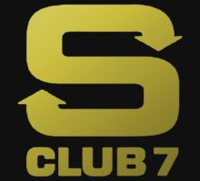 S Club 7 Shirt 1 by Joe Bolingbroke