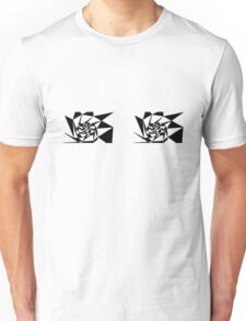 Two Patterns on Chest 01 Unisex T-Shirt