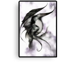 demon fairy Canvas Print