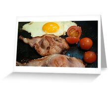fry up  Greeting Card