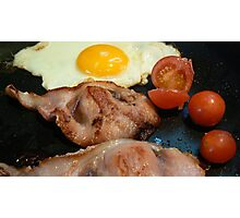 fry up  Photographic Print