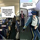Hipster Airline Pilot  by Rick  London