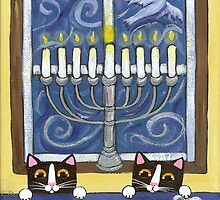 Hanukkah Cats by Ryan Conners