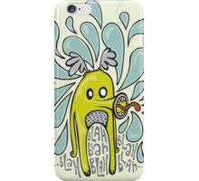 Boring Blah Monster iPhone Case/Skin