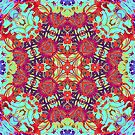 Enlightenment Kaleidoscope Print by red addiction