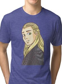 Legolas Greenleaf: Lord of the Rings Tri-blend T-Shirt