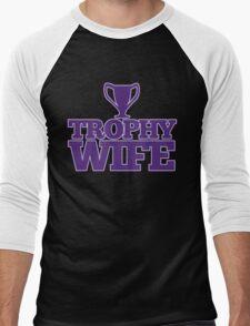 Trophy Wife Men's Baseball ¾ T-Shirt