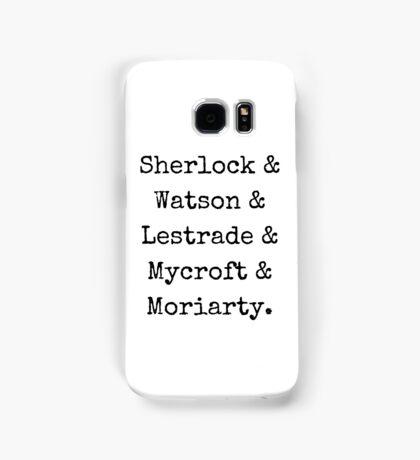 Guys of Sherlock Samsung Galaxy Case/Skin