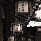 Japanese lantern by Rezit