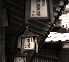 Japanese lantern by Rezit