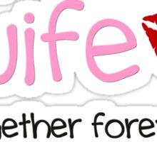 Oilfield Wife - Pink - No Background Sticker