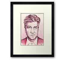 David Lynch - Dune - Twin Peaks - The Elephant Man - Blue Velvet Framed Print
