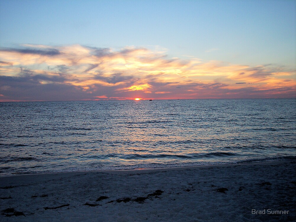 Gulf Coast Sunset by Brad Sumner